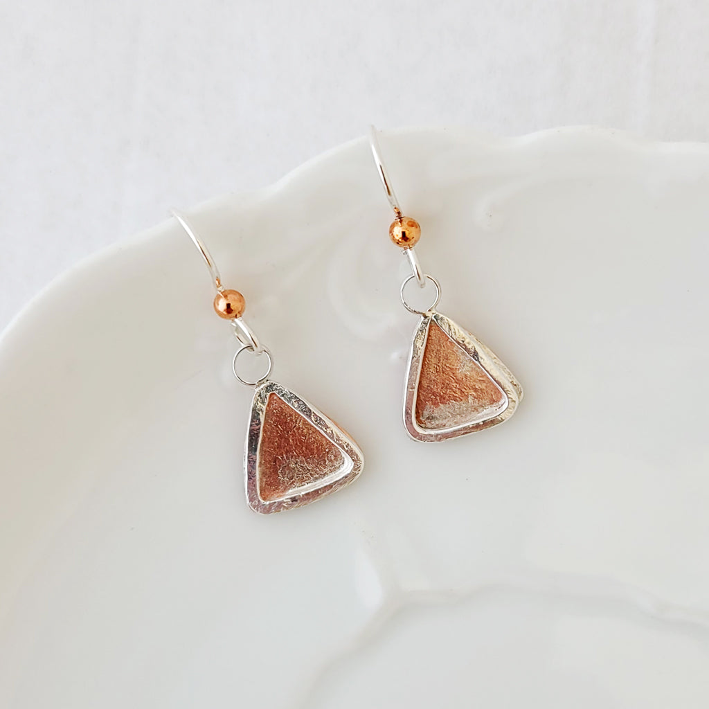 Layers in Triangle - Earrings