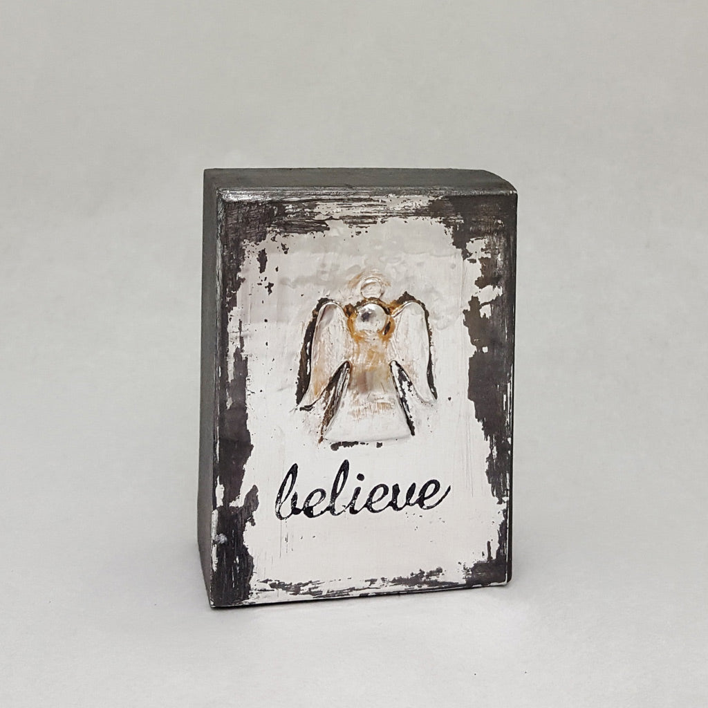 Mini Believe with Angel - Shiny Silvers
