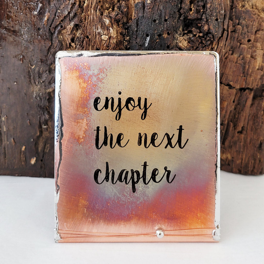 Enjoy the Next Chapter - Mini
