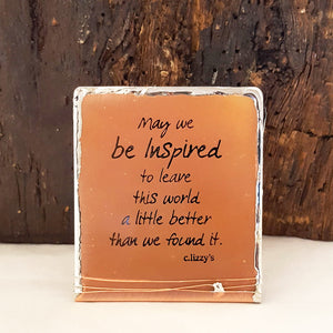 May We Be Inspired - Mini