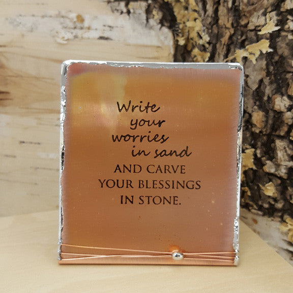 Write Your Worries in Sand - Mini