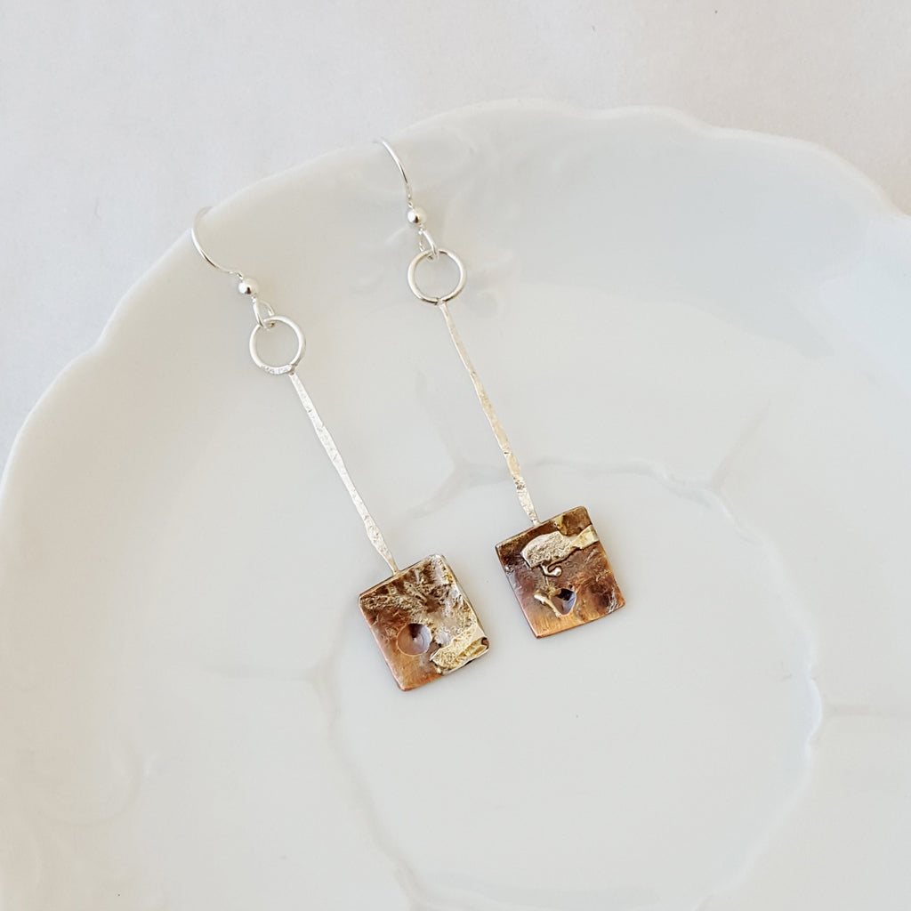 Urban Decay Square Drop II - Earrings