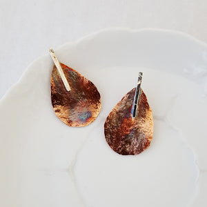 Urban Pear Drop - Earrings