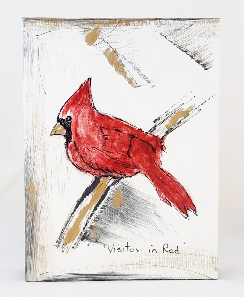 Visitor in Red