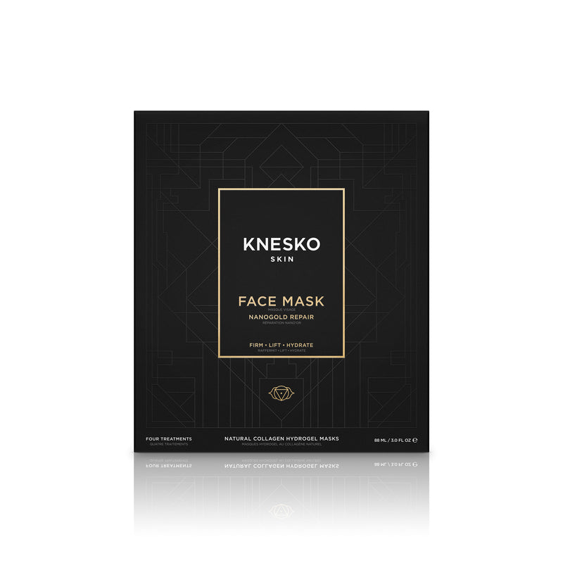 Nano Gold Repair Collagen Face Mask packaging