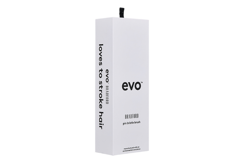 Evo Hair Bradford Pin Bristle Brush Packaging