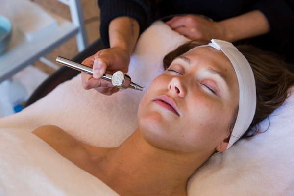 Woman getting Bridal Glow Facial