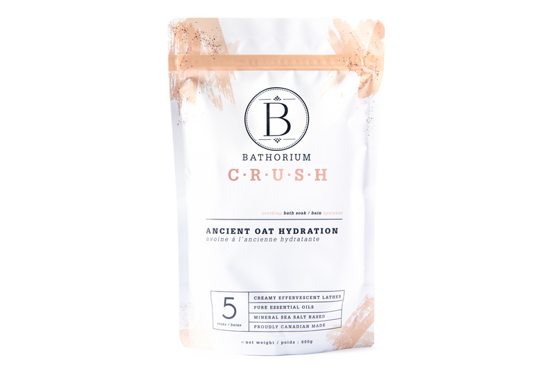 Bathorium Ancient Oat Hydration CRUSH Bath Soak
