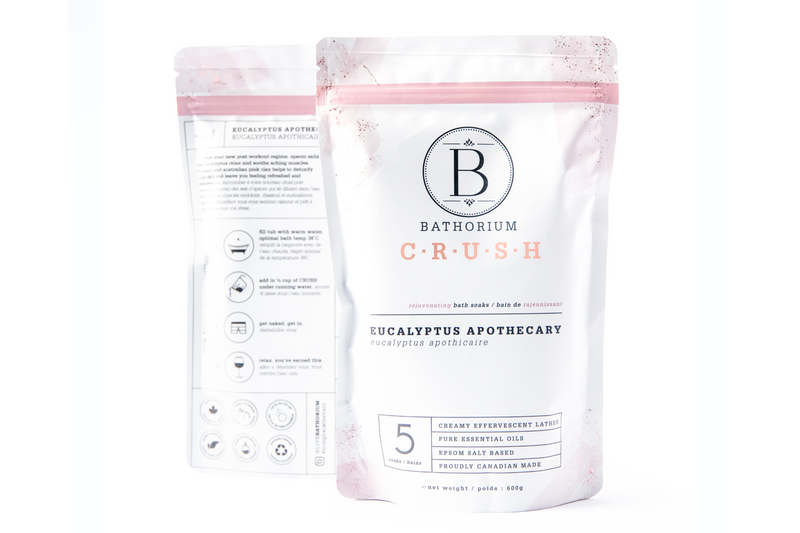 Bathorium Eucalyptus Apothecary CRUSH Bath Soak
