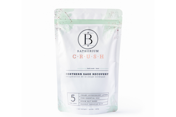 Bathorium Northern Sage Recovery CRUSH Bath Soak