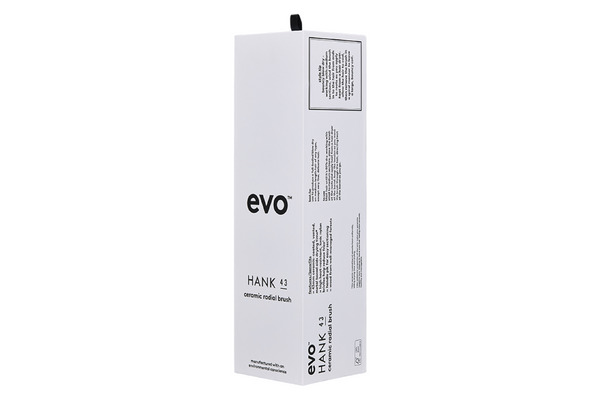 Evo Hair Hank 43 Ceramic Radial Brush packaging