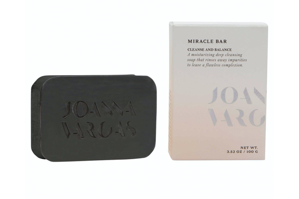Joanna Vargas Miracle Bar and packaging