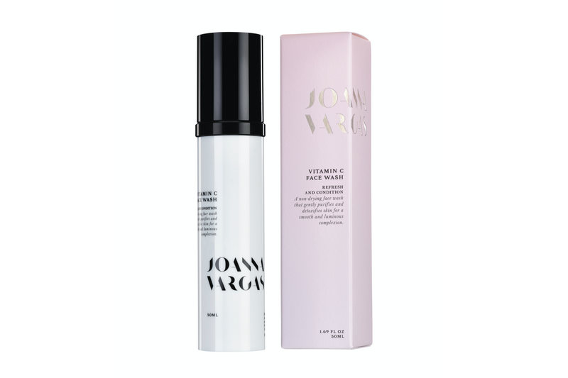 Joanna Vargas Vitamin C Face Wash and packaging
