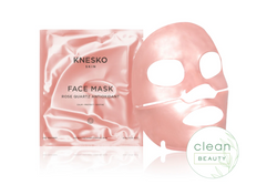 Knesko Skin Rose Quartz Antioxidant Collagen Face Mask