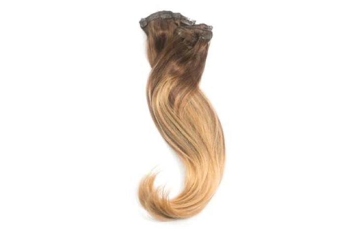 Tesoro Hair Toffee Blonde Ballayage 4/14 Clip in Extensions
