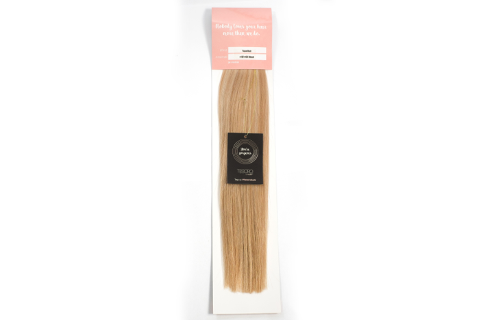 Apple Crisp Blend 18/24 Tape Extensions 16""