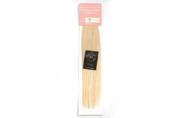 60 Ash Blonde Tape Extensions 16""