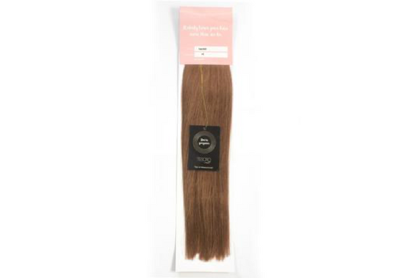6 Ash Brown Tape Extensions 16""