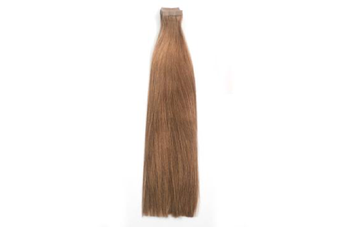6 Ash Brown Tape Extensions 20""