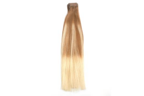Butterscotch Blonde Ballayage 8/613 Tape Extensions 16""