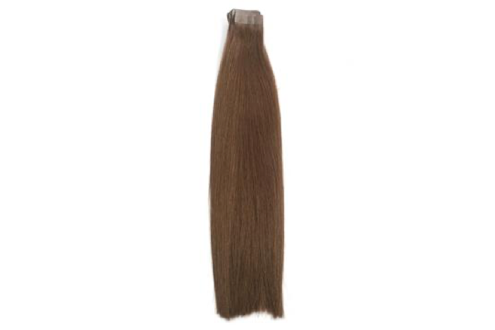 4 Chocolate Brown Tape Extensions 20""