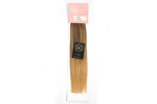 Tesoro Hair Toffee Blonde Ballayage 4/14 Tape Extensions 16""