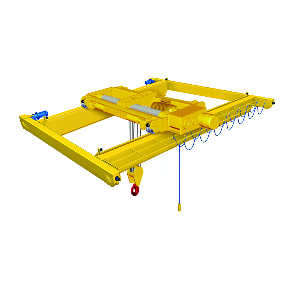 3 Ton Advantage Double Girder Top Running Motorized Bridge Crane