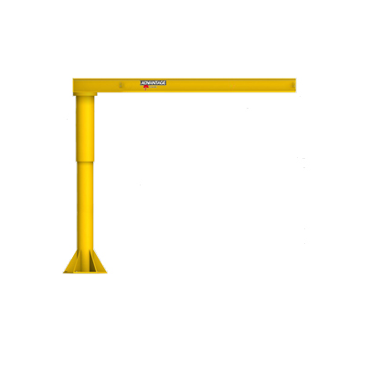 CUSTOM - 1/4 Ton L-Series Duty Floor Mounted Jib Crane