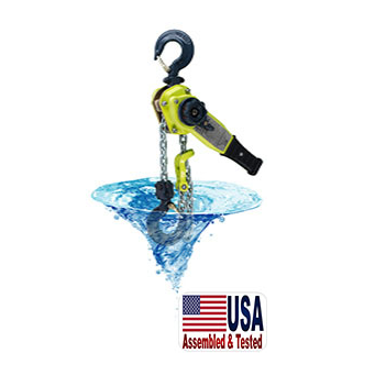 1 1/8 Ton AMH Submersible X5SL Series Lever Hoist