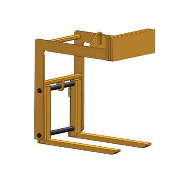 5 Ton HPLAF Adjustable Fork Pallet Lifter