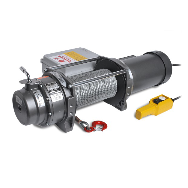 WG Series Electric Winch Pulling Capacity 3,700 lbs. - 8 fpm
