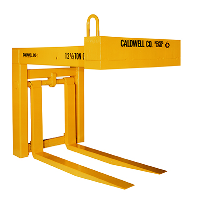 12 1/2 Ton Caldwell Heavy Duty Adjustable Fork Pallet Lifter