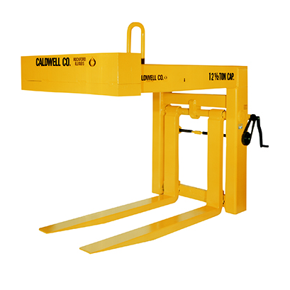 12 1/2 Ton Caldwell Heavy Duty Hand Wheel Fork Pallet Lifter