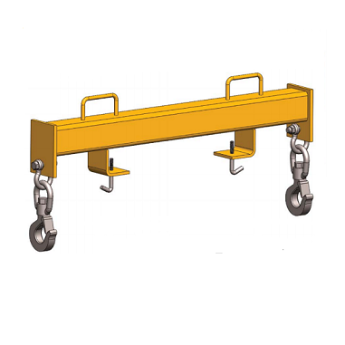 2 Ton HFHBD Fork Truck Double Hook Beam