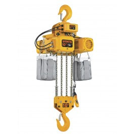 15 Ton Harrington Electric Chain Hoist - NER Series 7.5 FPM 230/460v Three Phase