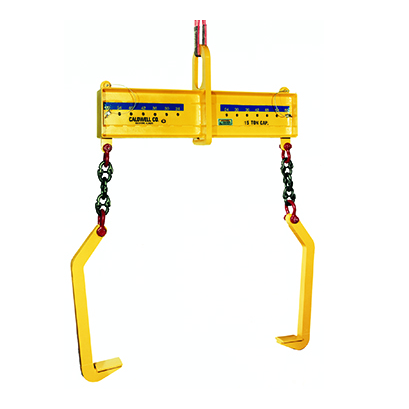 15 Ton Caldwell Double Leg Two Sided Coil Lifter