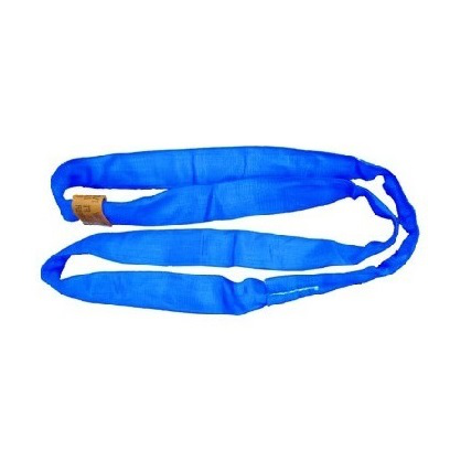 CUSTOM - 21,200 lb Blue Double Jacket Round Sling
