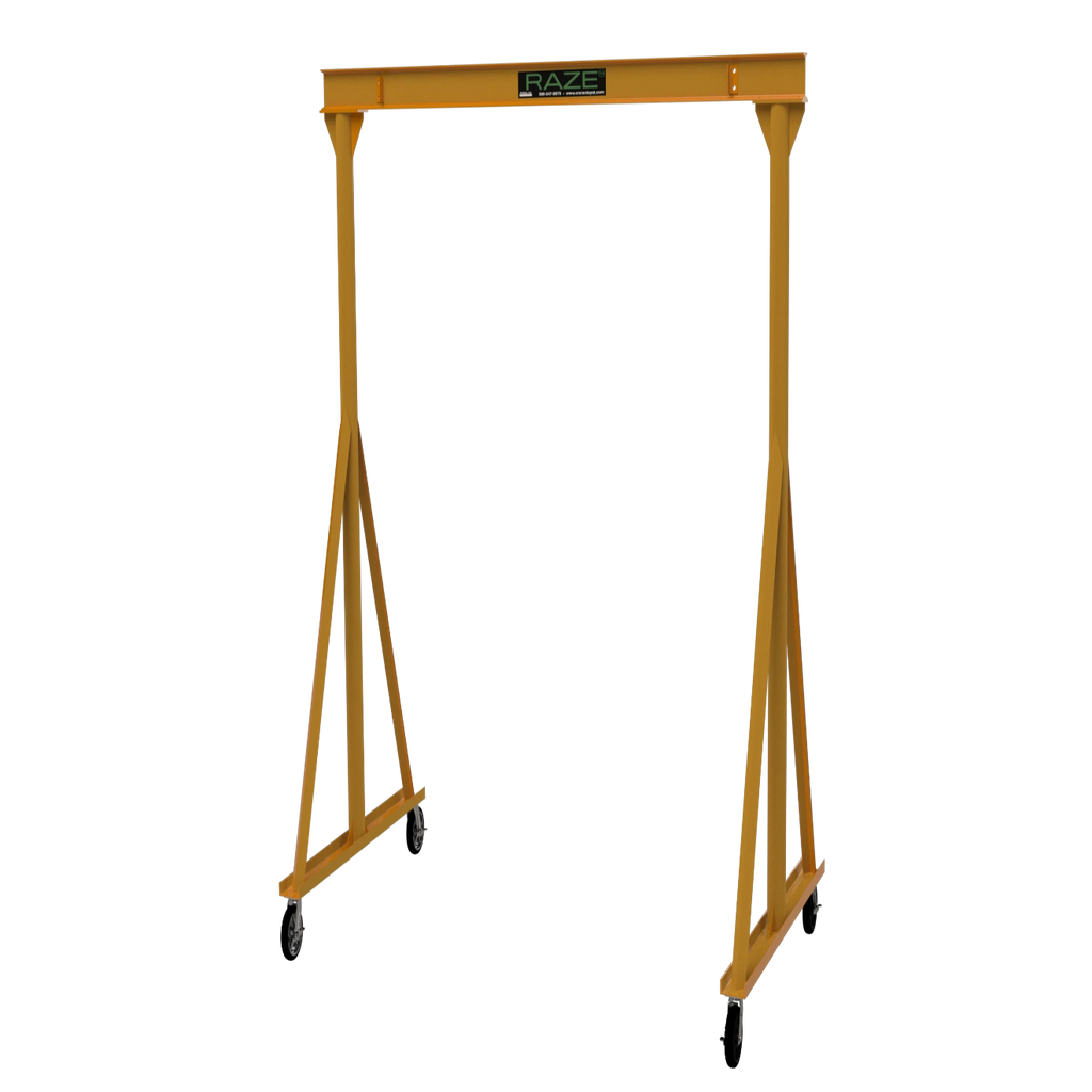 CUSTOM - 2 Ton RAZE Fixed Height Gantry Crane