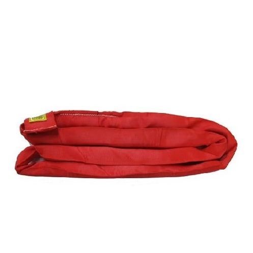 CUSTOM - 13,200lb Red Double Jacket Round Sling