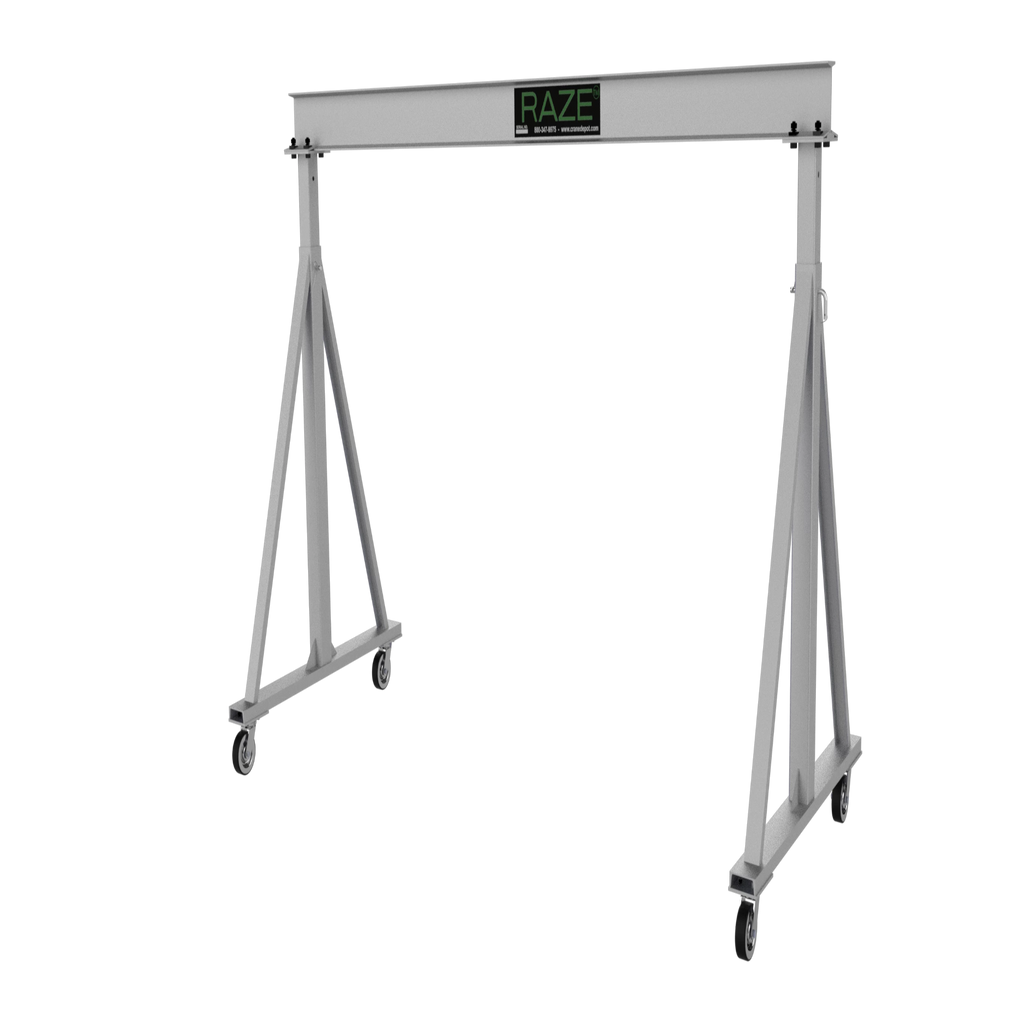 CUSTOM - 1/4 Ton RAZE Adjustable Aluminum Gantry Crane