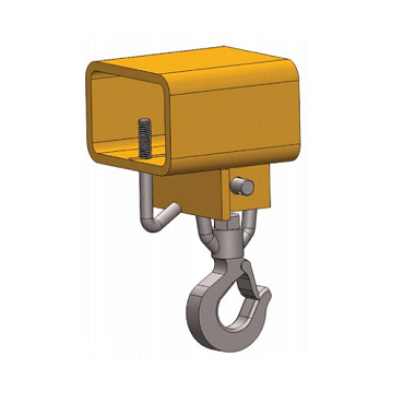 1.5 Ton HFHS Fork Truck Hook Swivel