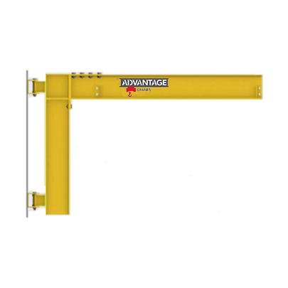 CUSTOM - 1/2 Ton Cantilevered Wall Mounted Jib Crane
