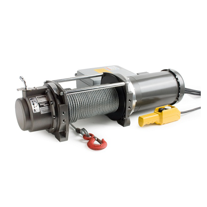 WF Series Electric Winch Pulling Capacity 575 lbs. - 74 fpm