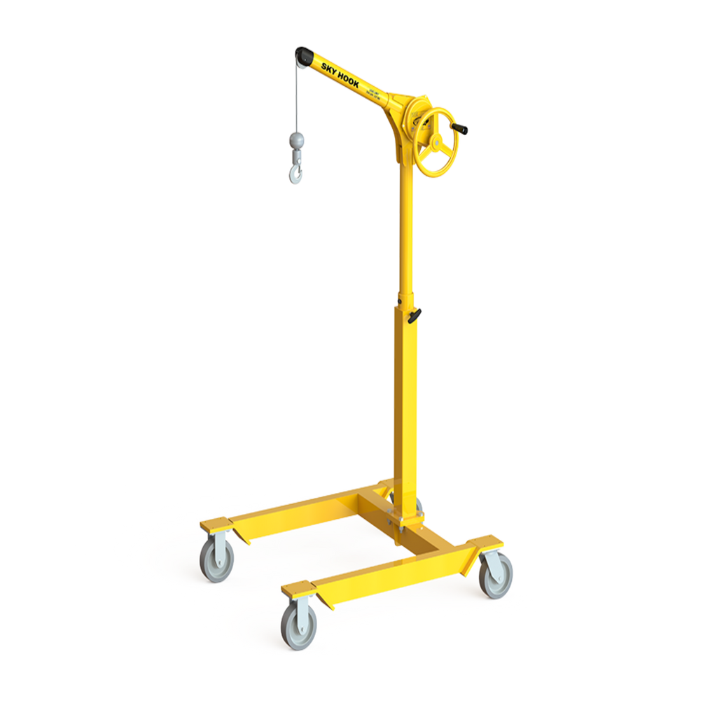 CUSTOM - Premium Cable Sky Hook W/ Mobile Cherry Picker Base