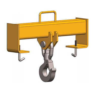 10 Ton HFHBS Fork Truck Hook Beam Swivel