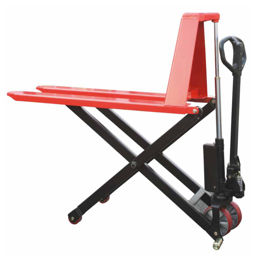 CUSTOM - High Lift/Scissor Lift Pallet Jack 3300 Lb. Capacity - Manual