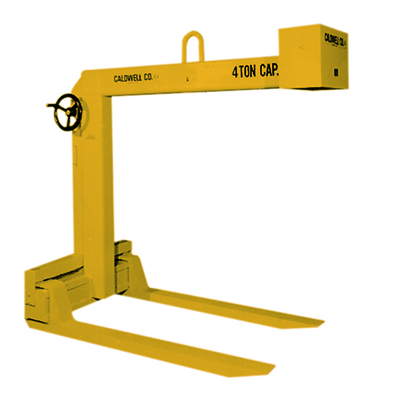 1 1/2 Ton Caldwell Hand Wheel Adjustable Pallet Lifter