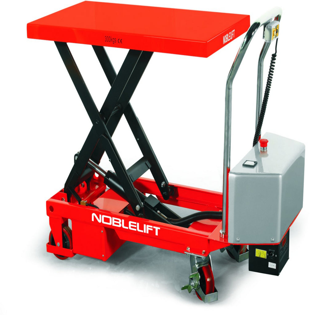 Battery Operated Single Scissor Lift Tables