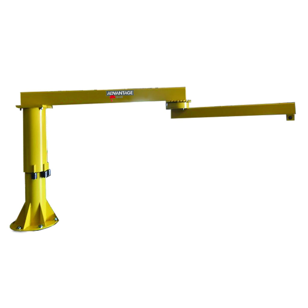 CUSTOM - 1/4 Ton FL-FAR Series Foundationless Floor Mounted Articulating Jib Crane