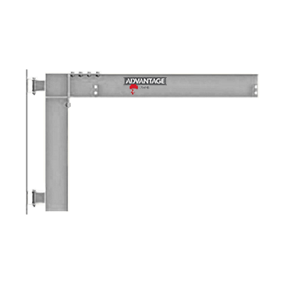 1/2 Ton SS CW Series Cantilevered Wall Mounted Jib Crane